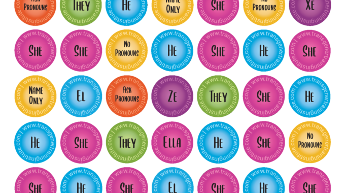 Pronouns 101:  Understanding And Using Affirming Pronouns